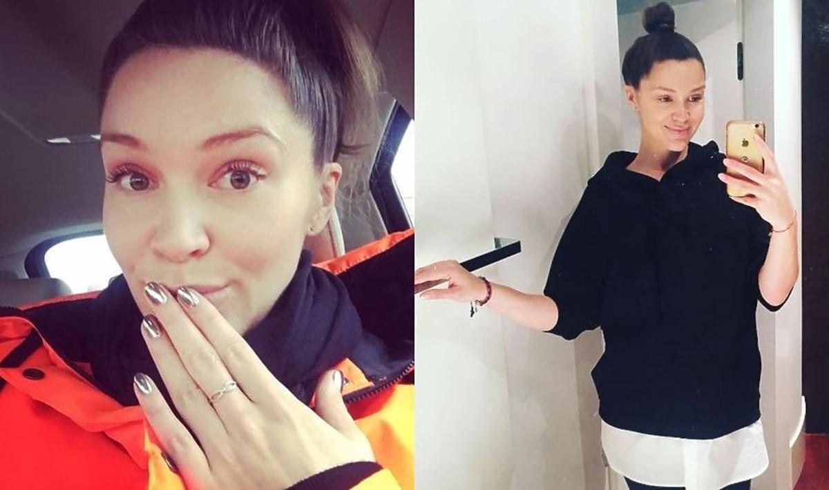Natalia Jakuła pokazała duży brzuszek przed porodem