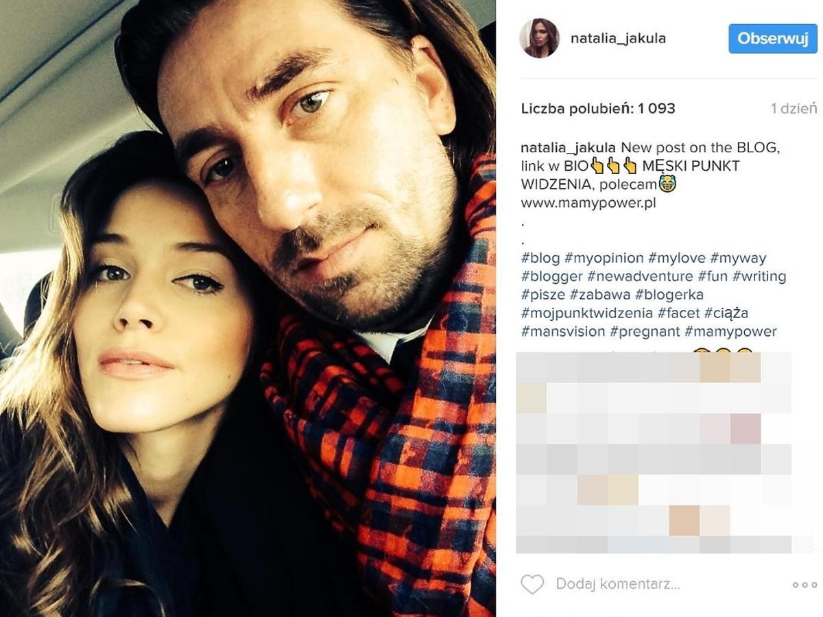 Natalia Jakuła w 8.miesiącu ciąży