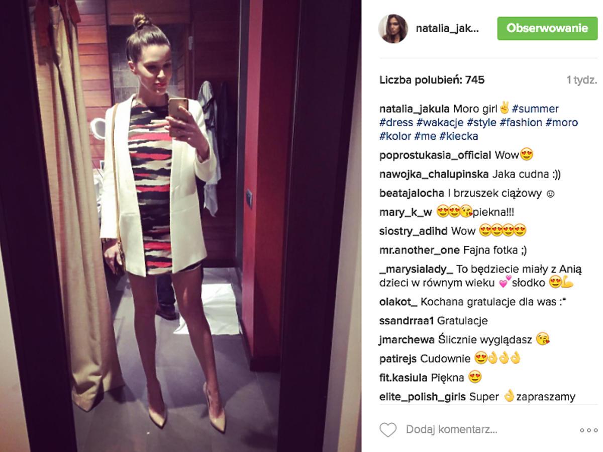 Natalia Jakuła w ciąży