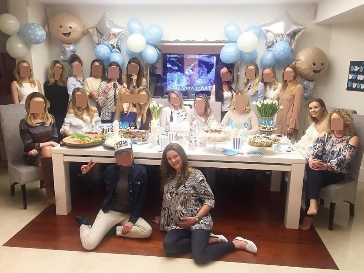 Natalia Jakuła wyprawiła baby shower