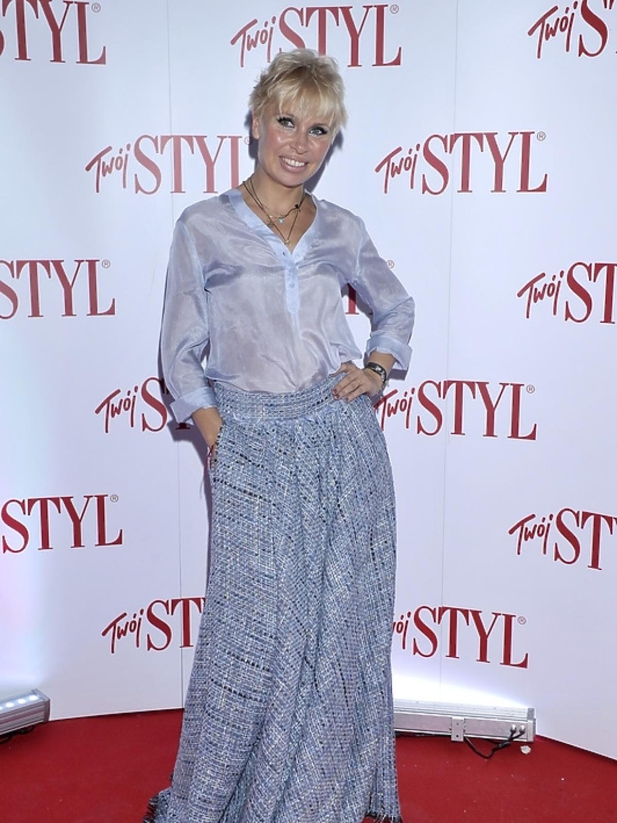Natalia Jaroszewska na gali Doskonałość Mody 2012