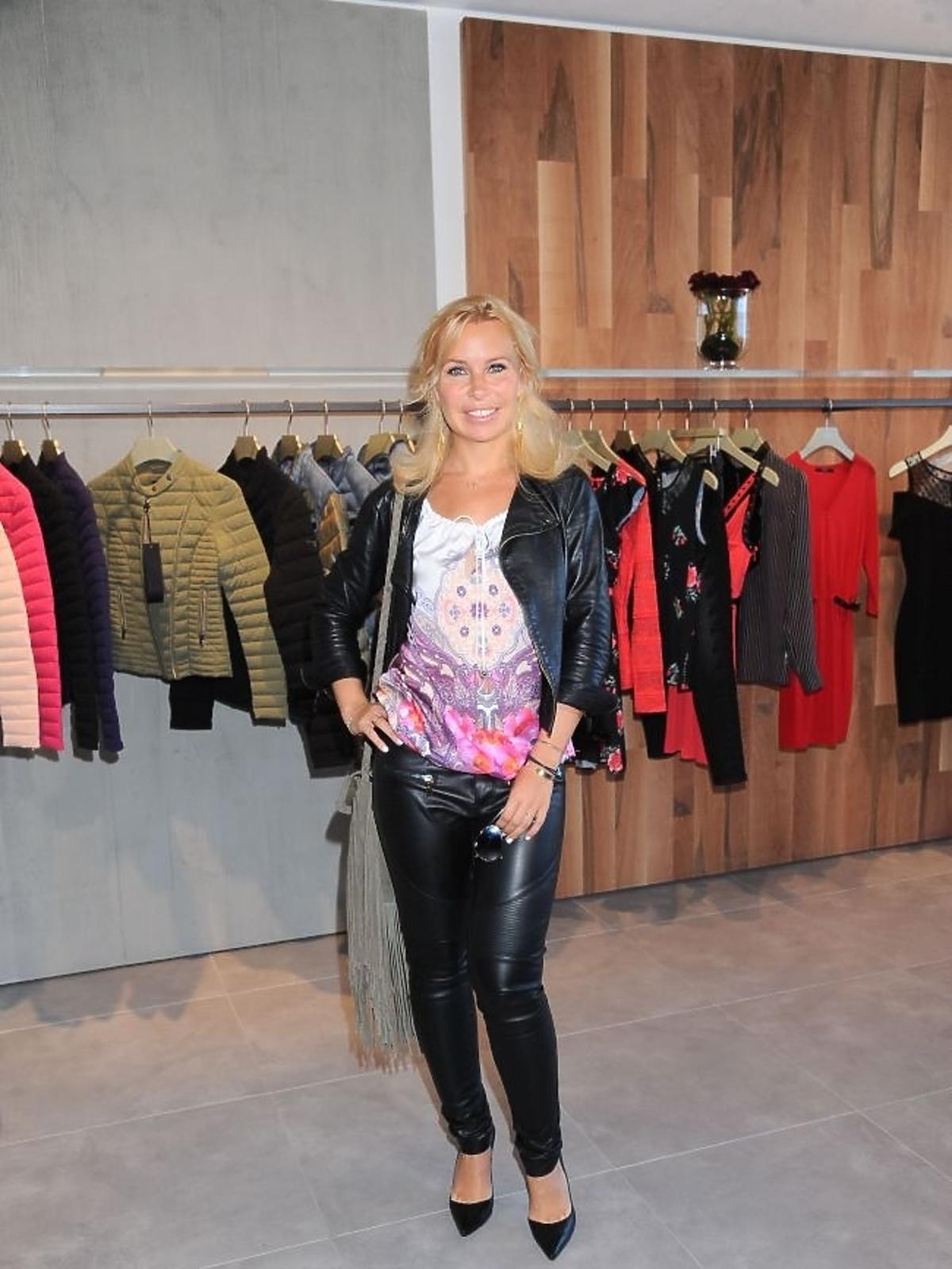 Natalia Jaroszewska na prezentacji kolekcji Guess