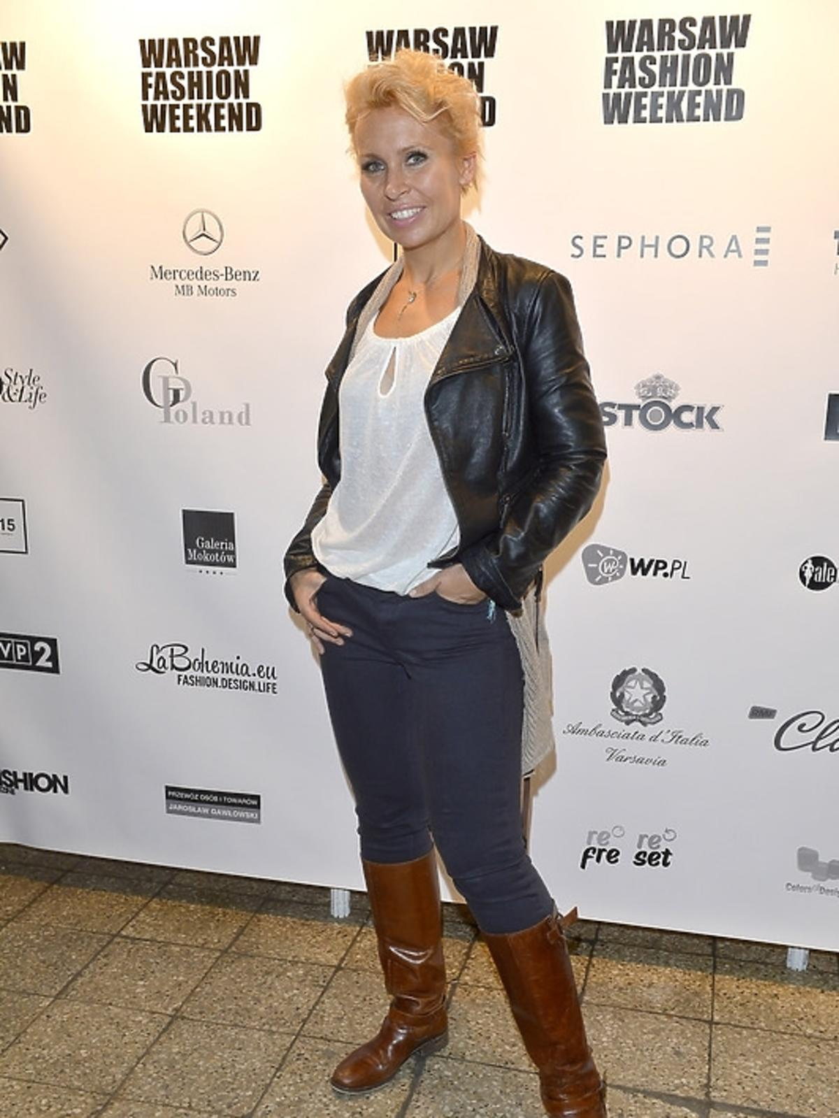 Natalia Jaroszewska na Warsaw Fashion Weekend