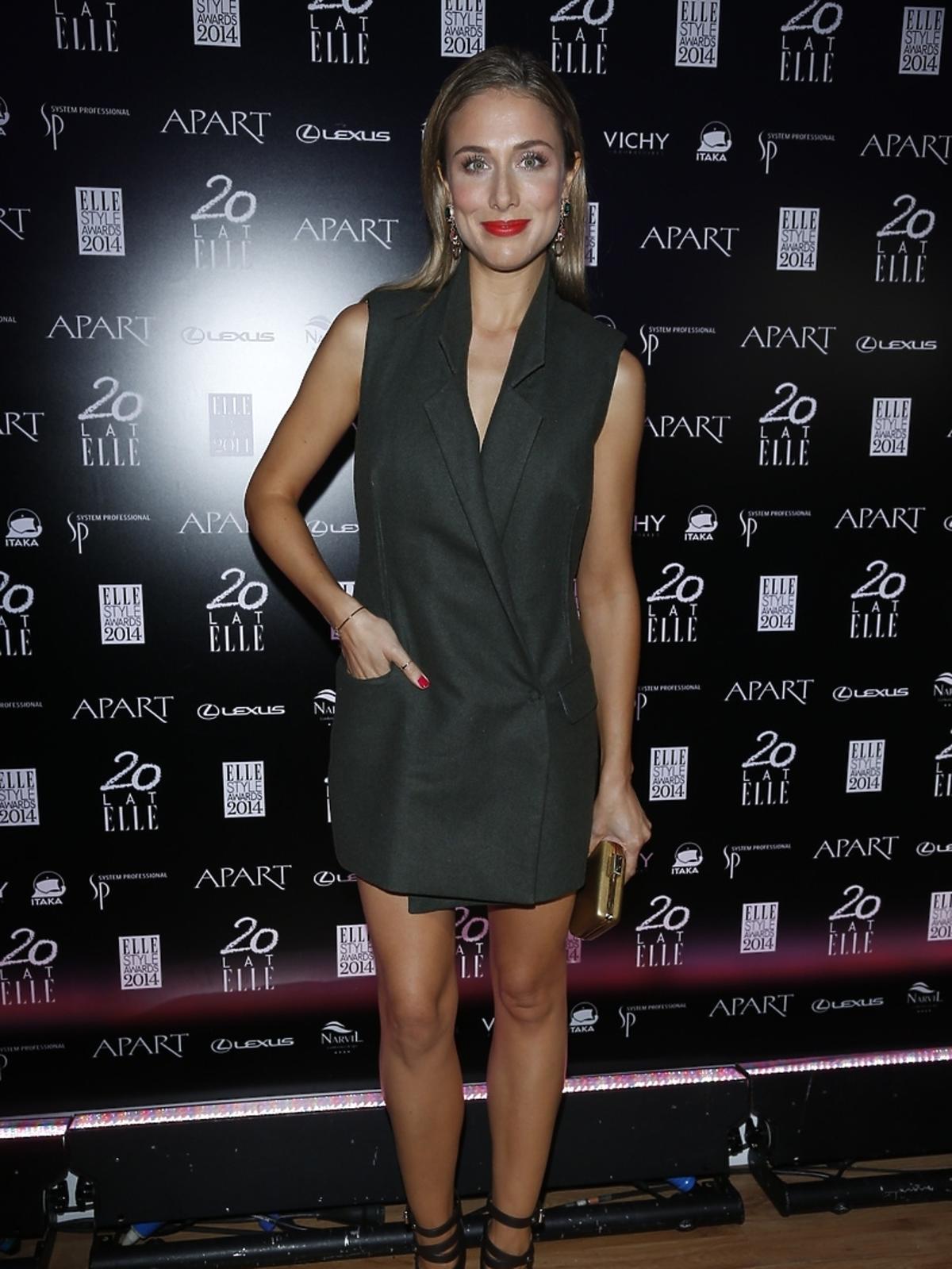 Natalia Klimas na Elle Style Awards 2014