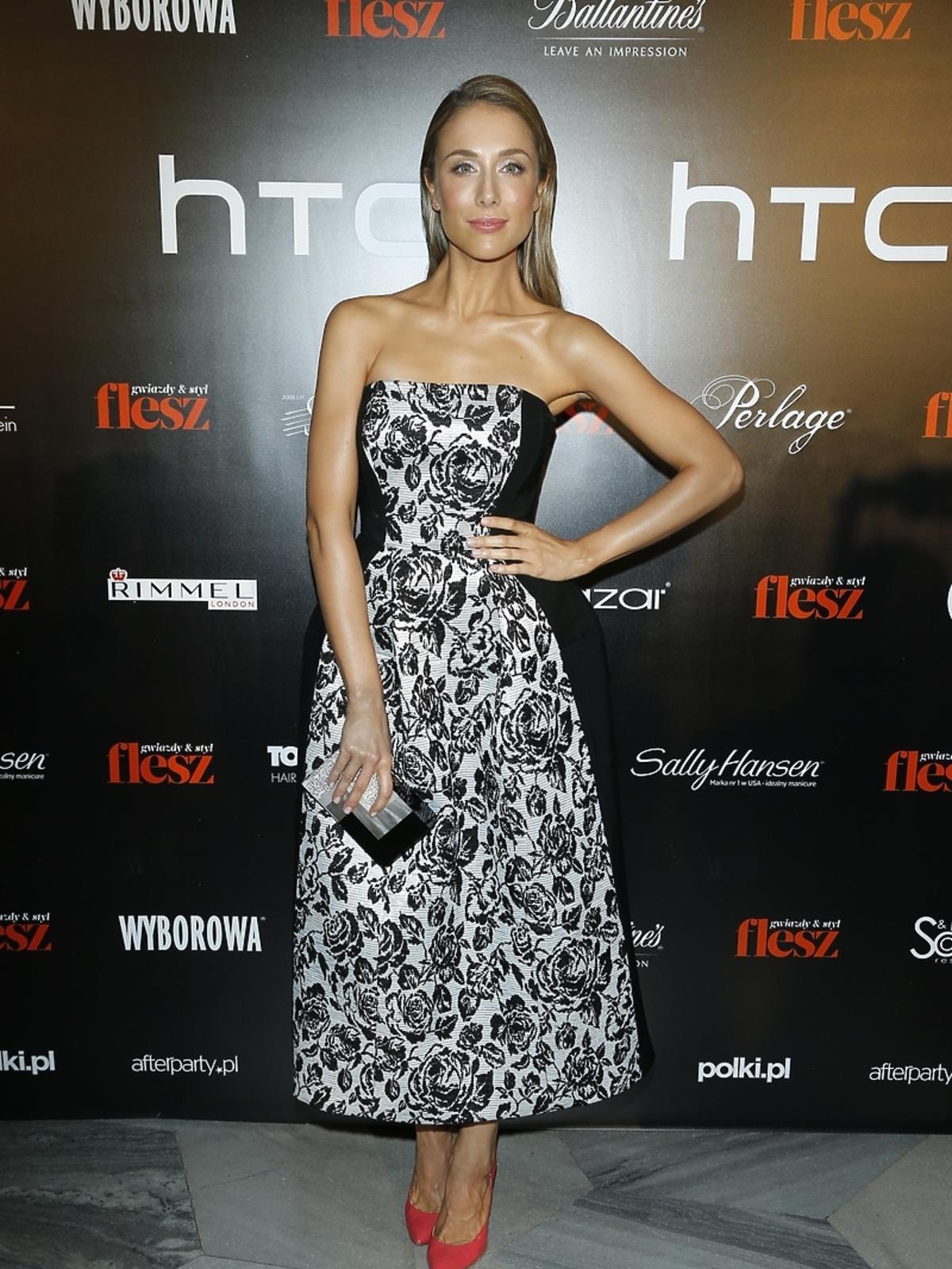 Natalia Klimas na imprezie Flesz Fashion Night
