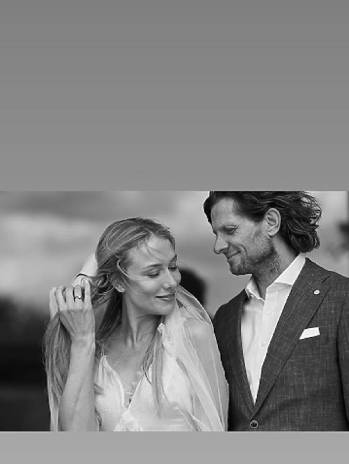 Natalia Klimas wyszła za mąż, zdjęcie ślubne