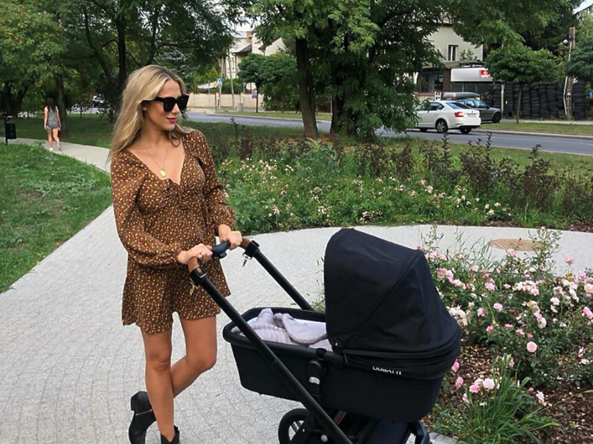 Natalia Klimas z córką