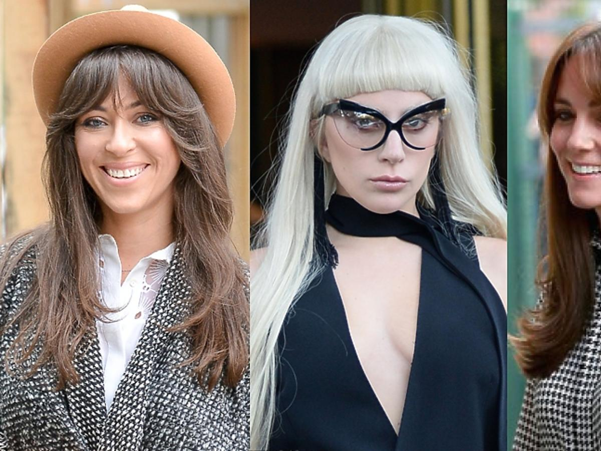 Natalia Kukulska, Lady Gaga, Kate Middleton w grzywkach