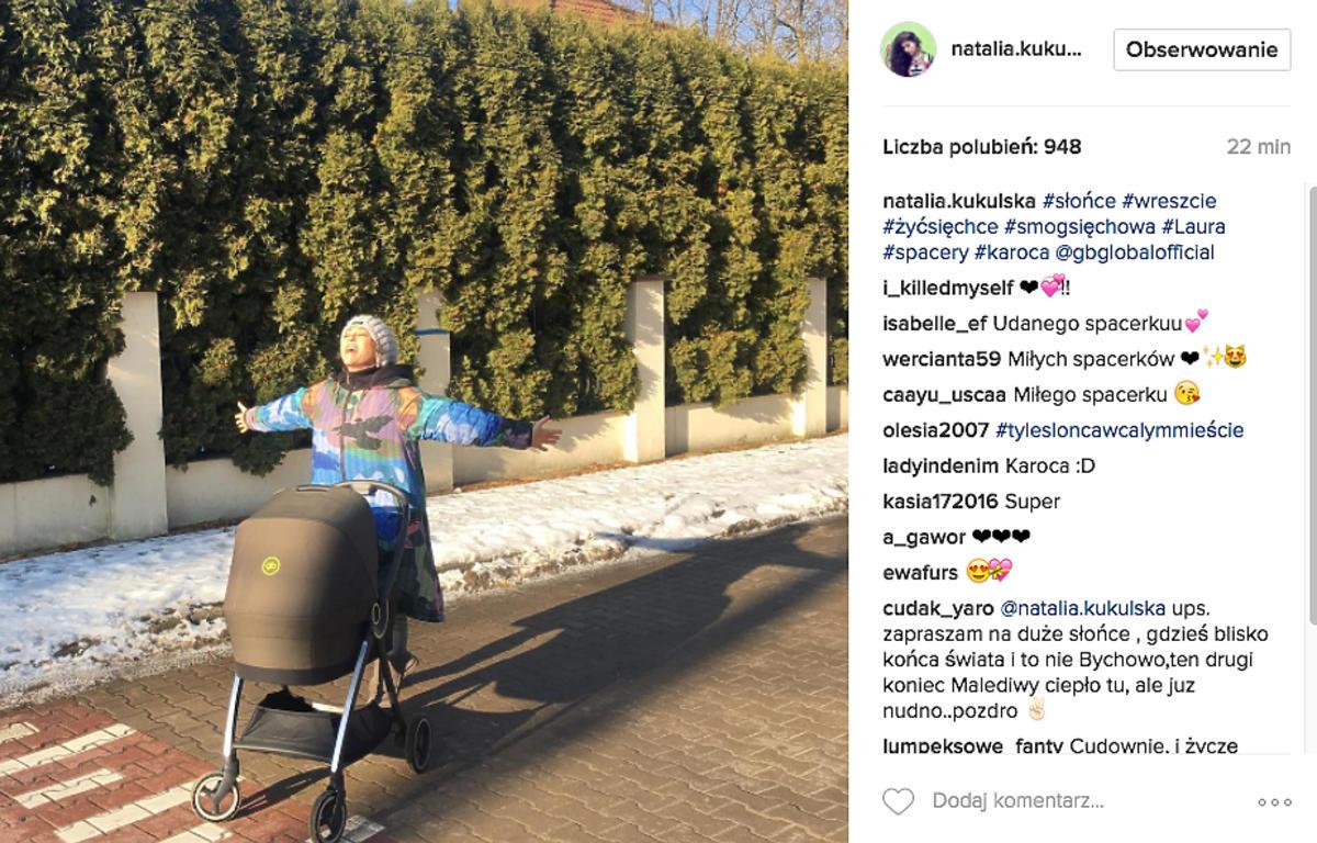 Natalia Kukulska pokazała zdjęcie wózka