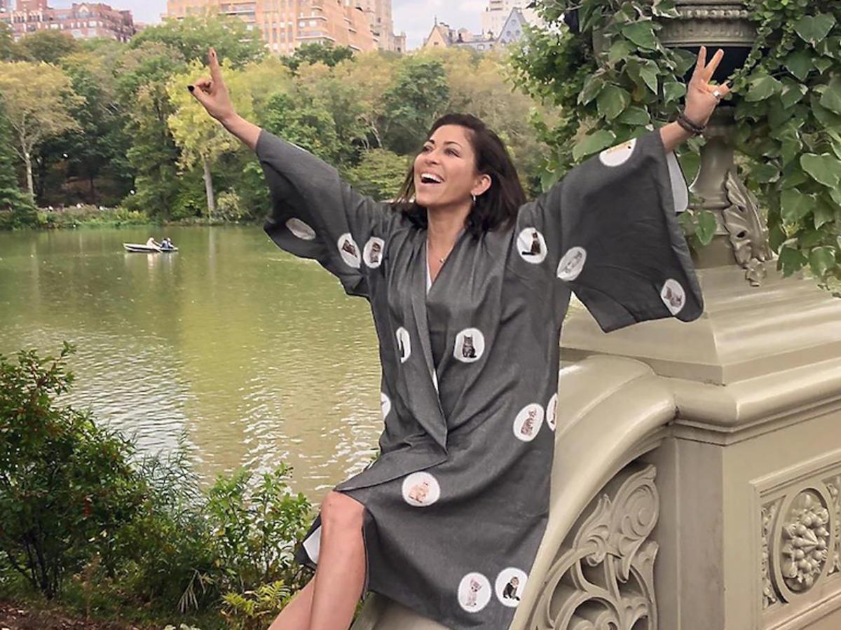 Natalia Kukulska w kimonie
