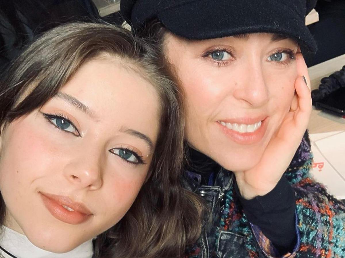 Natalia Kukulska z córką, Anną