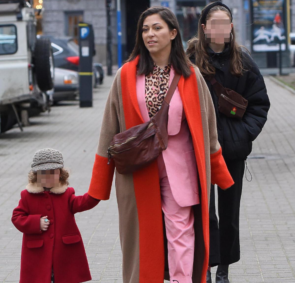 Natalia Kukulska z córkami
