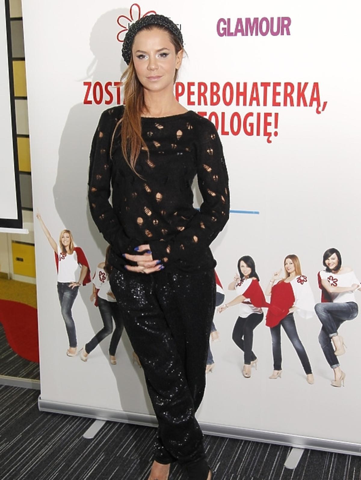 Natalia Lesz podczas spotkania Honeymoon dla Kwiatu Kobiecości