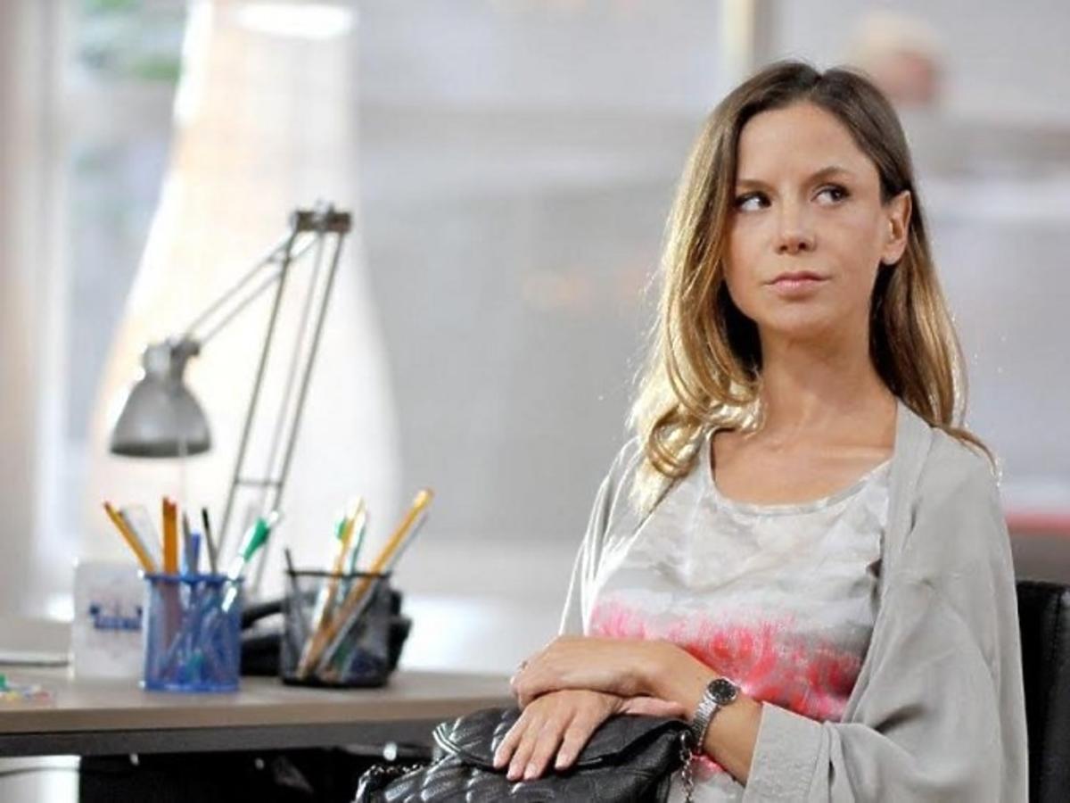 Natalia Lesz w ciąży na planie serialu Komisarz Alex
