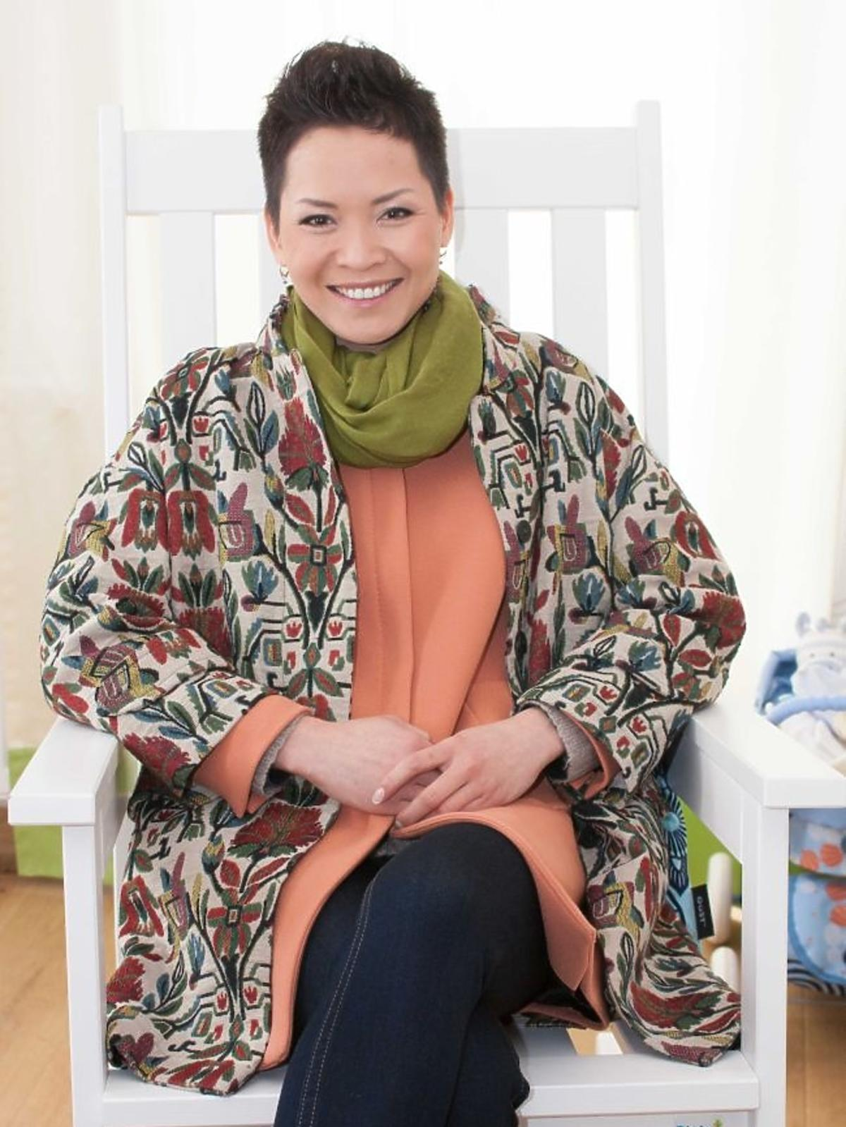Natalia Nguyen na planie programu