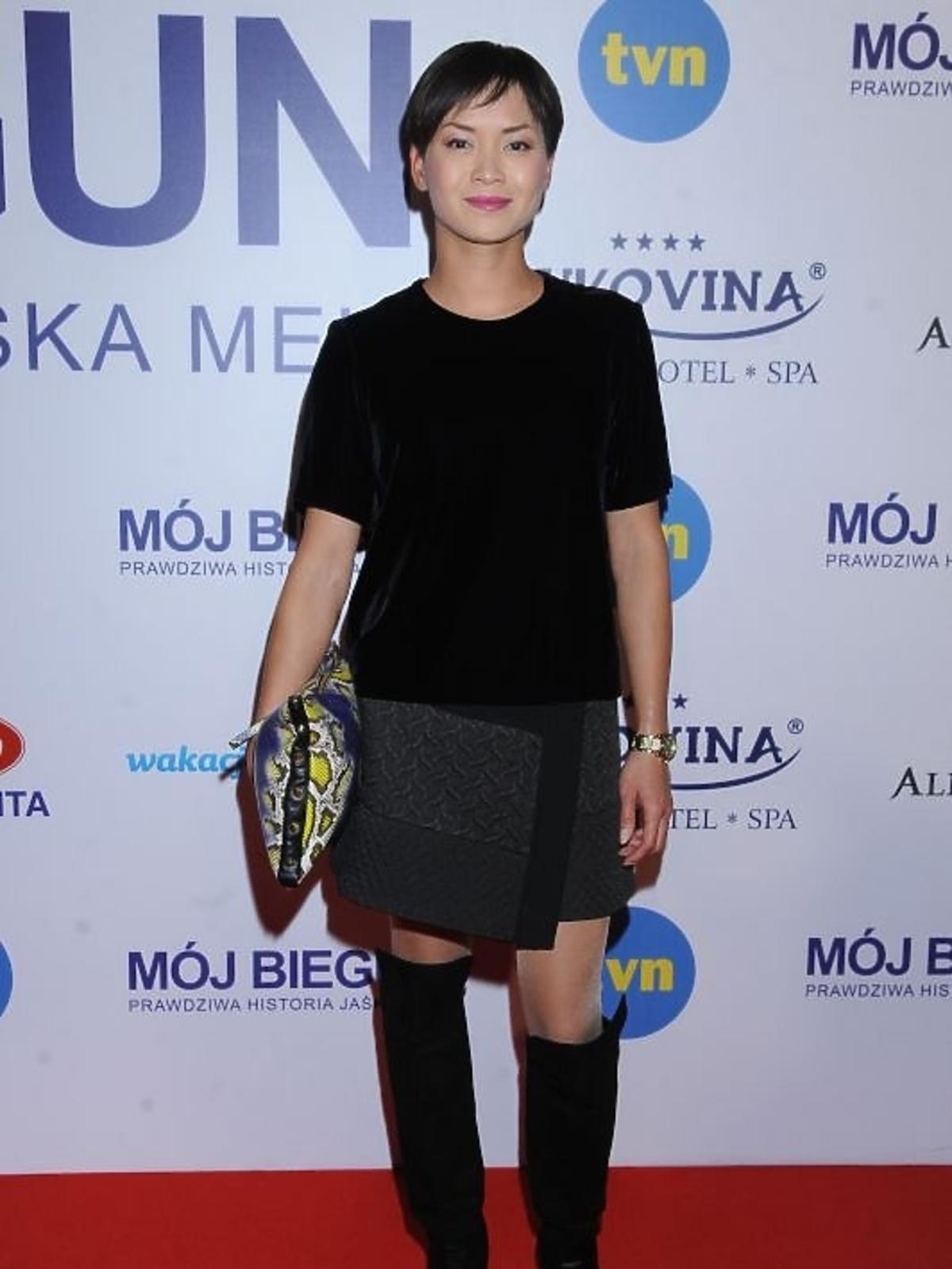 Natalia Nguyen na premierze filmu