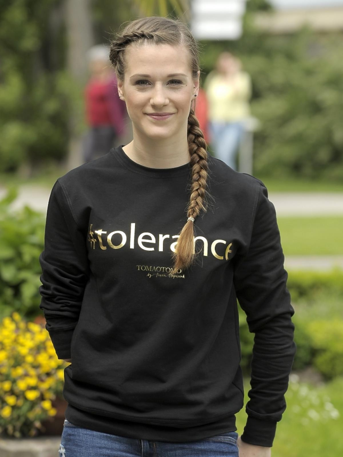 Natalia Partyka wspiera fundację Omeny Mensah