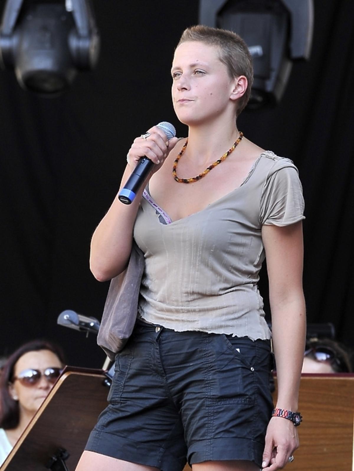 Natalia Sikora na Festiwalu Piosenki i Ballady Filmowej w Toruniu