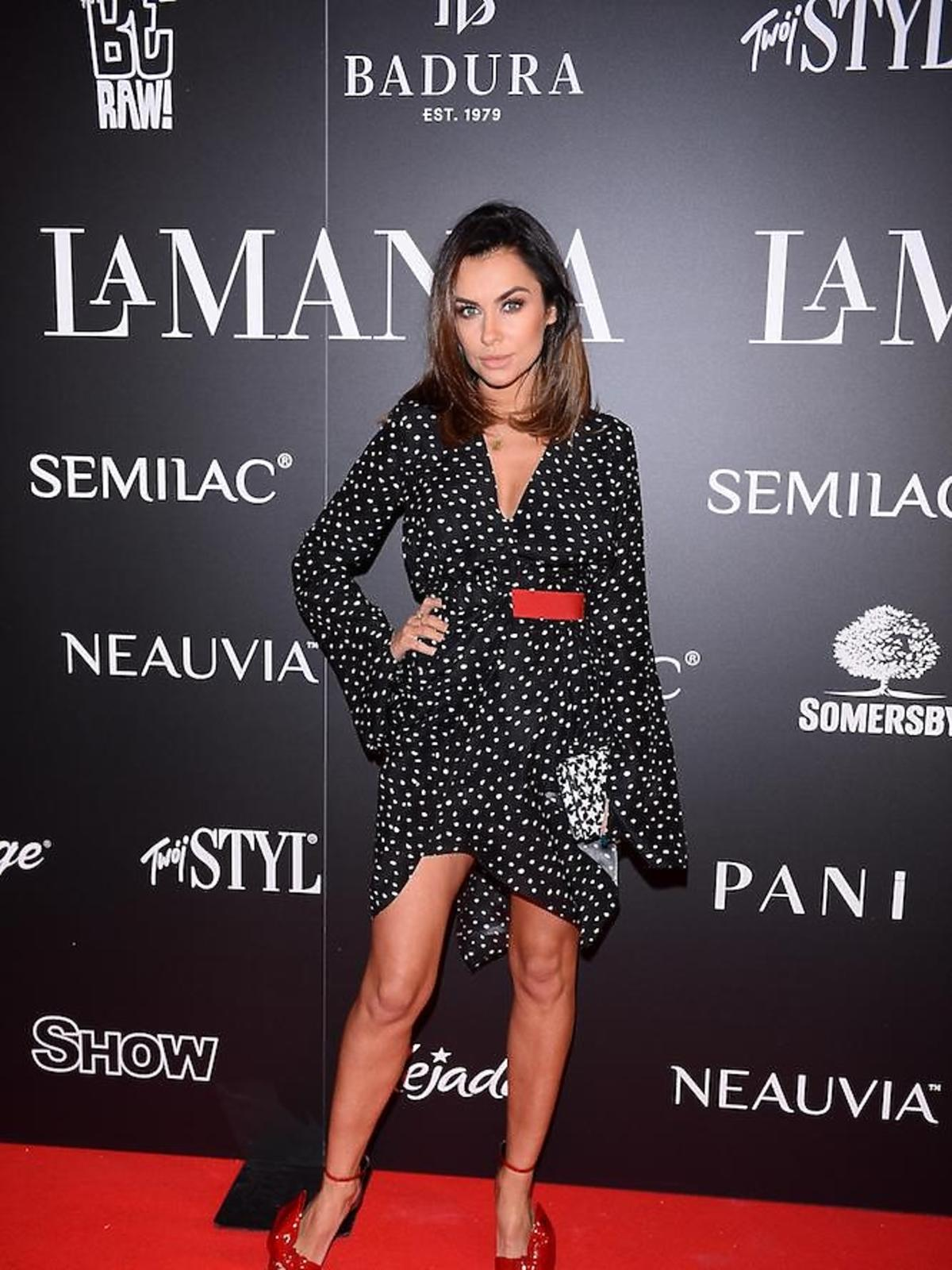 Natalia Siwiec na imprezie La Manii
