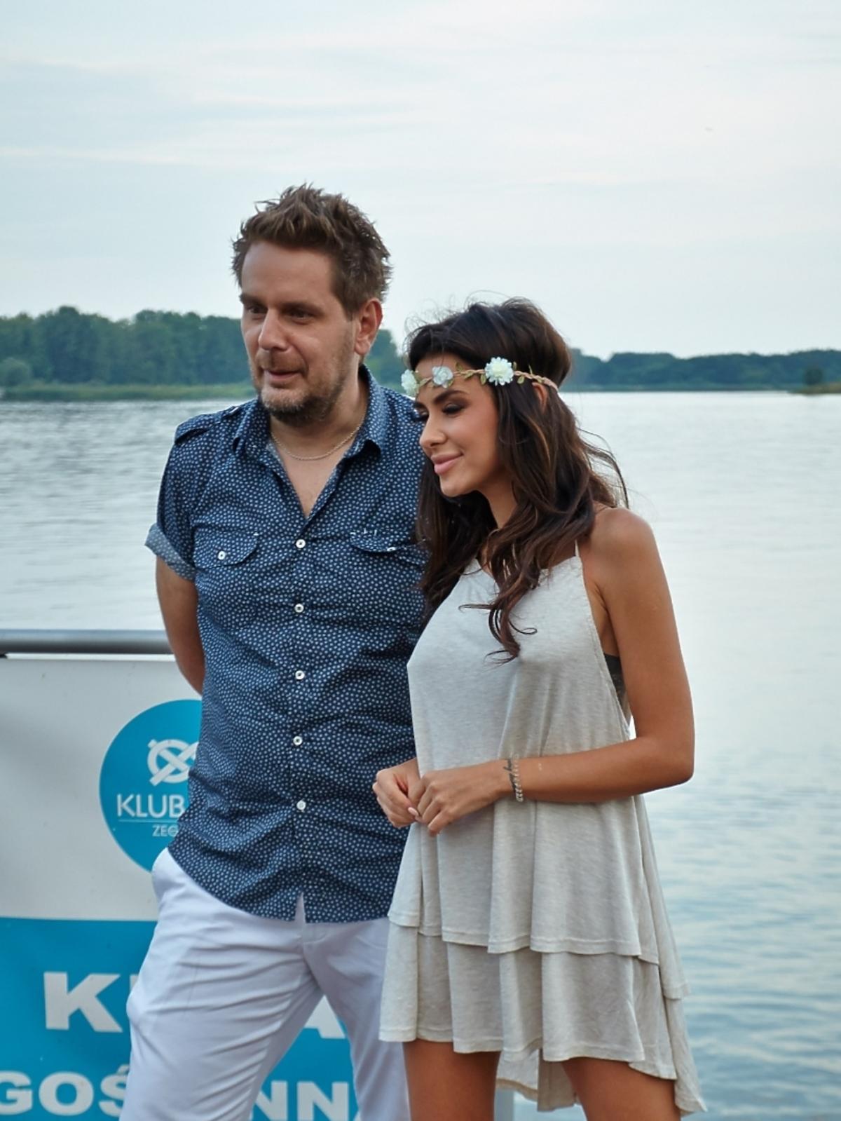 Natalia Siwiec na jachcie z Wojciechem Modestem Amaro