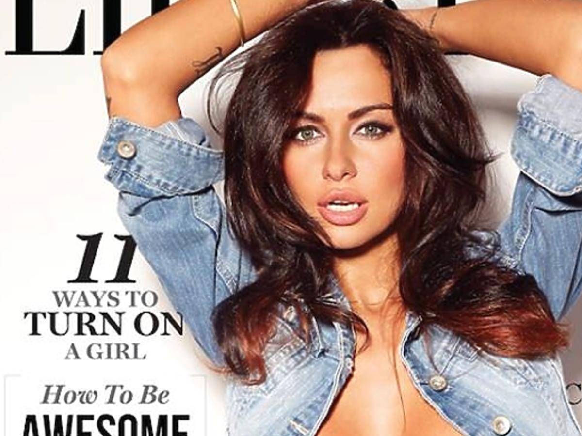Natalia Siwiec na okładce Lifestyle For Men Magazine