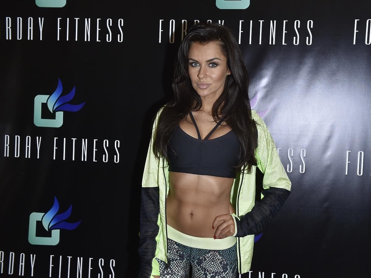 Natalia Siwiec na otwarciu klubu fitness Forday