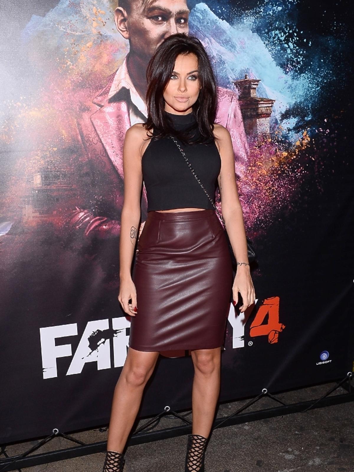 Natalia Siwiec na premierze gry FARCRY4