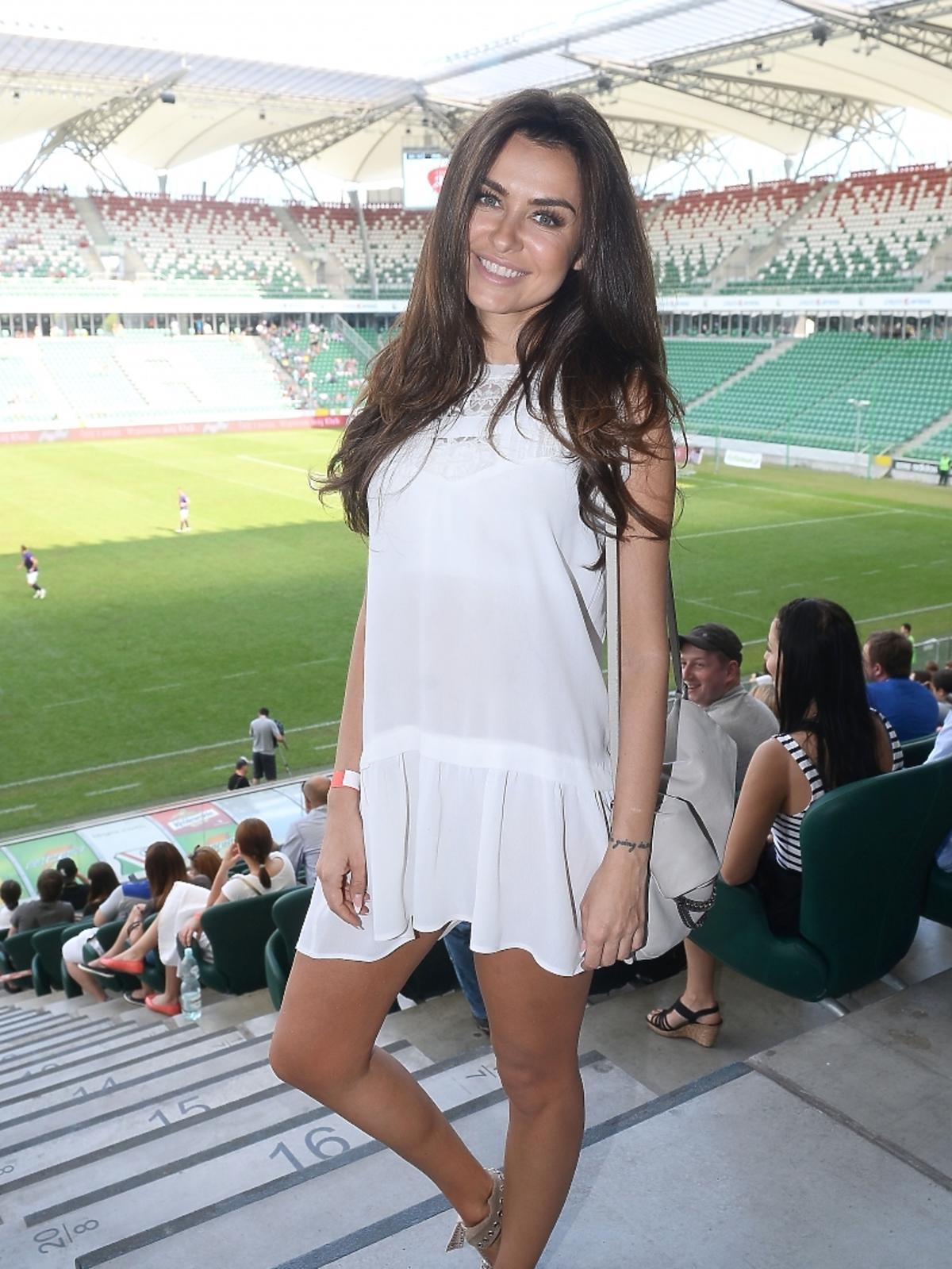 Natalia Siwiec na Stadionie Narodowym