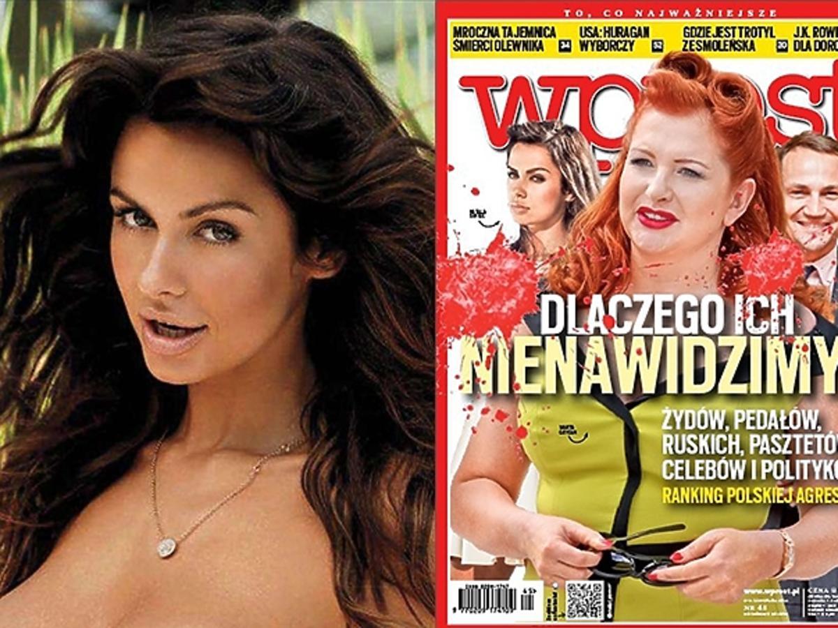 Natalia Siwiec nago w Playboyu, najbardziej znienawidzone gwiazdy Wprost