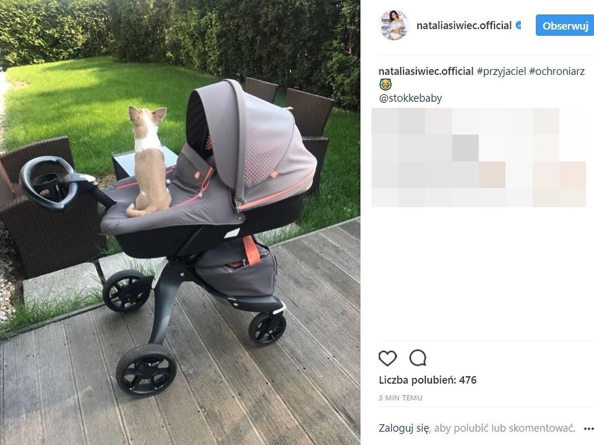 Natalia Siwiec pochwaliła się kolejnym wózkiem córeczki