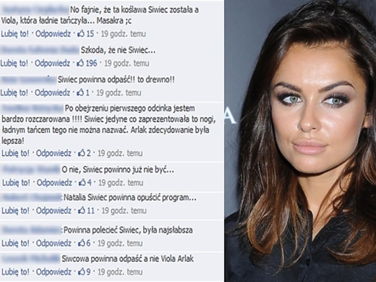 Natalia Siwiec skrytykowana przez internautów