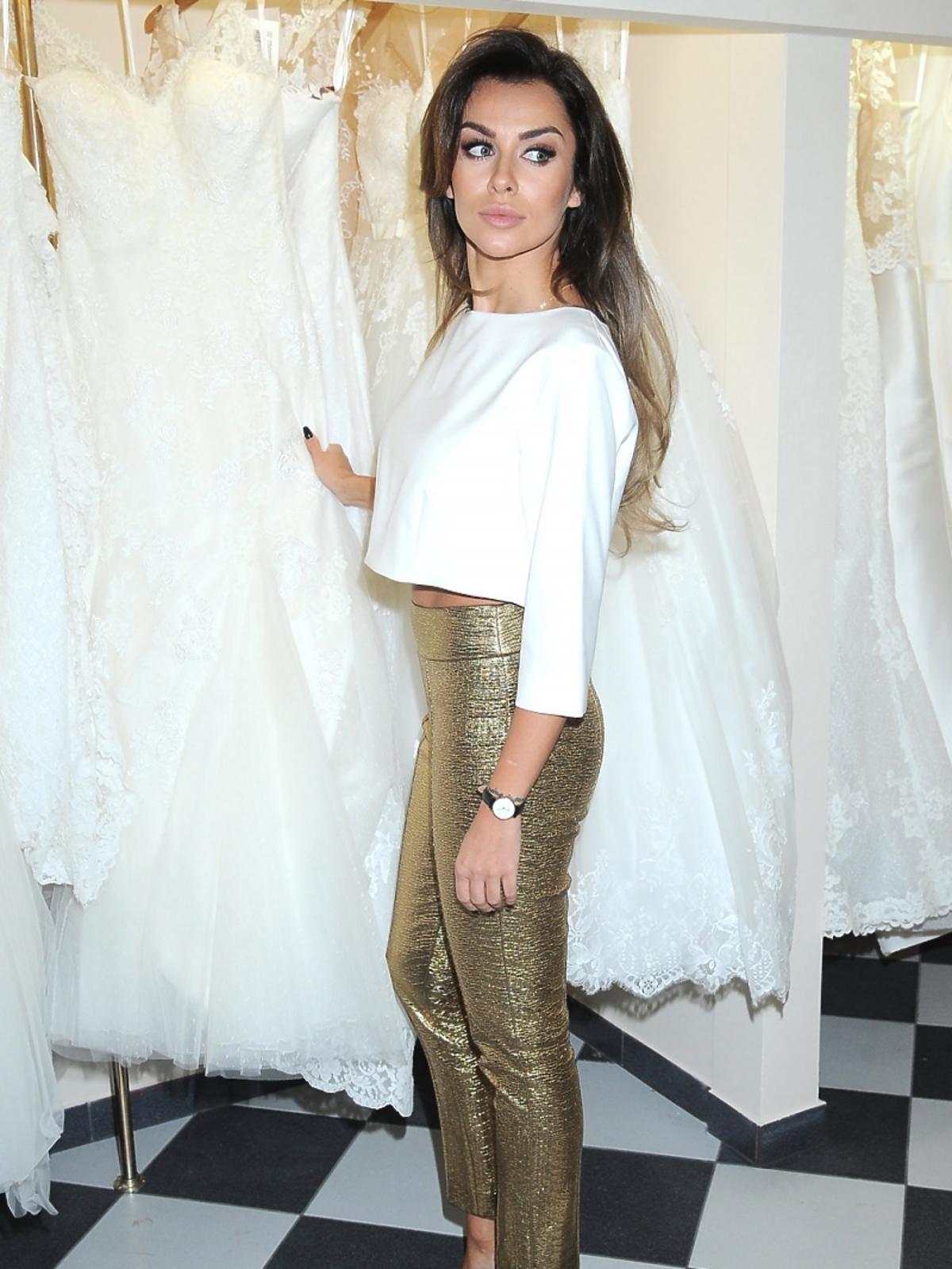 Natalia Siwiec w programie Salon Sukien Ślubnych