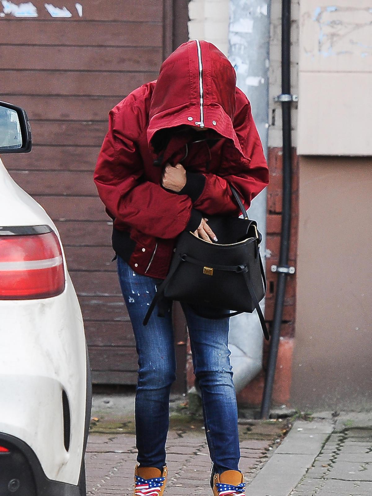 Natalia Siwiec z partnerem zaparkowali na zakazie