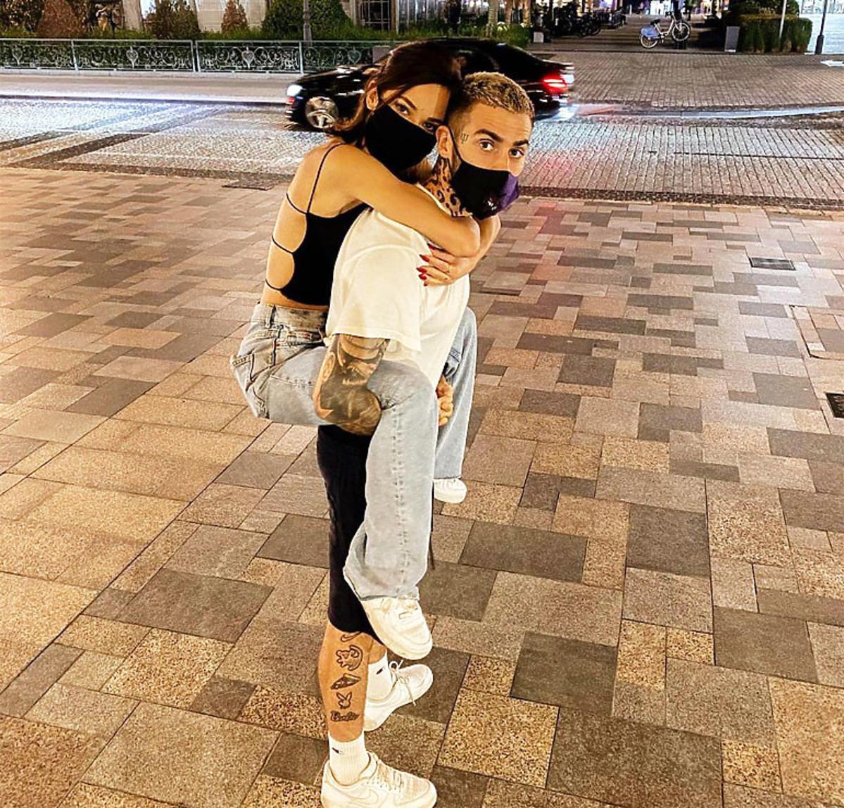 Natalia Szroeder i Quebonafide przytulają się
