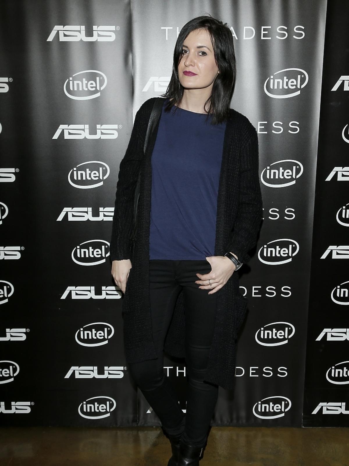 Natalia Viktorovna - Glamourina na spotkaniu marek THECADESS i Asus
