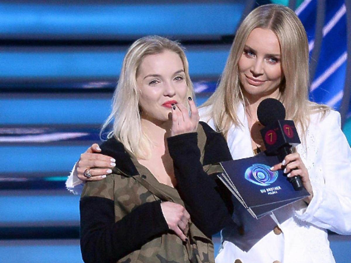 """Natalia Wróbel z programu """"Big Brother"""" z Agnieszką Woźniak-Starak"""