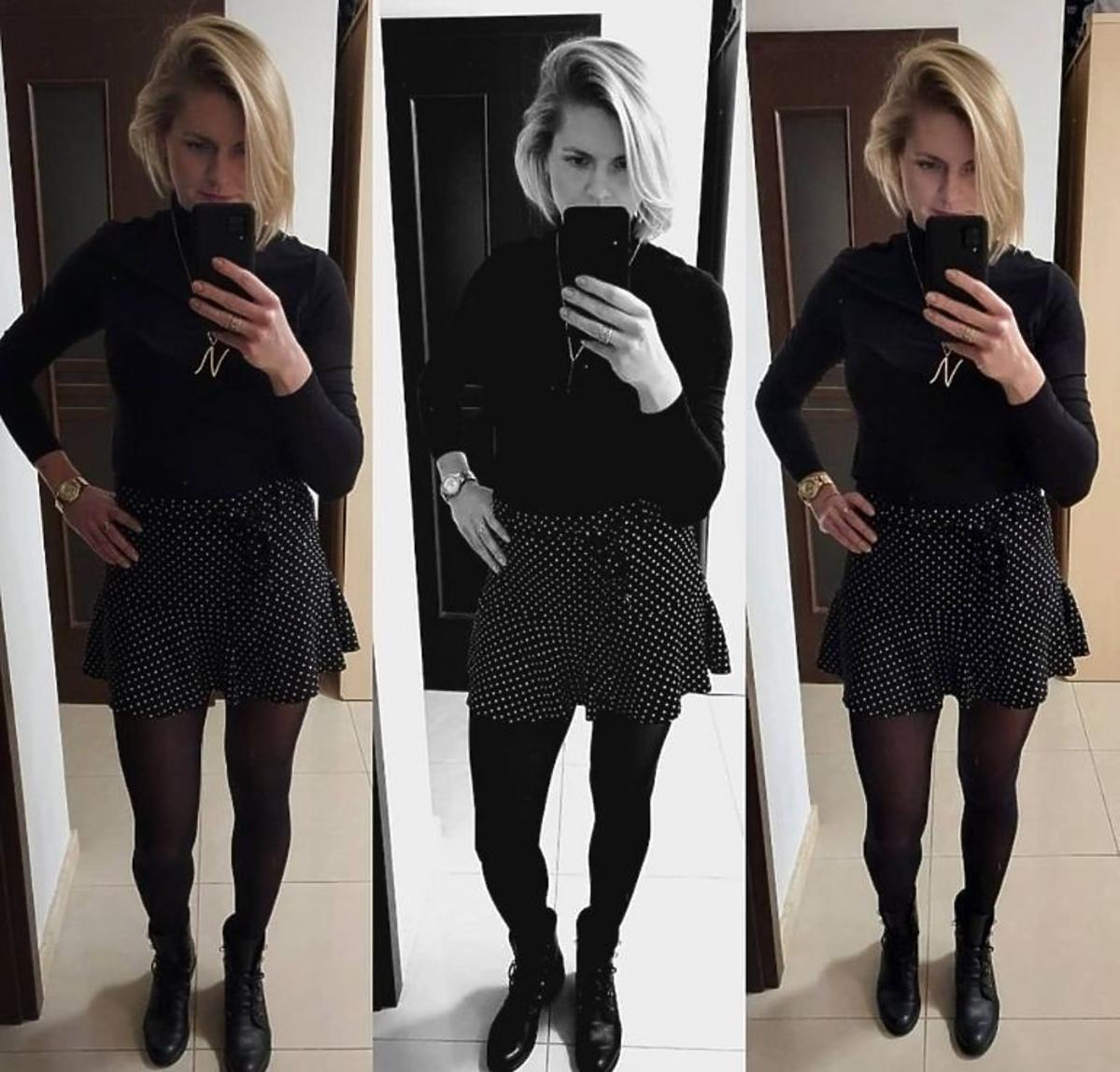 Natalia z Rolnik szuka żony w spódnicy Zara