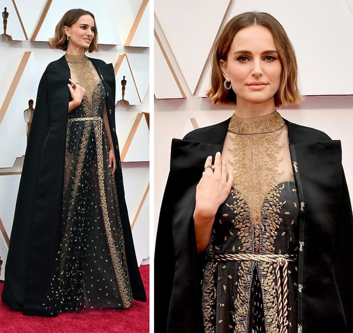 Natalie Portman na gali Oscarów 2020