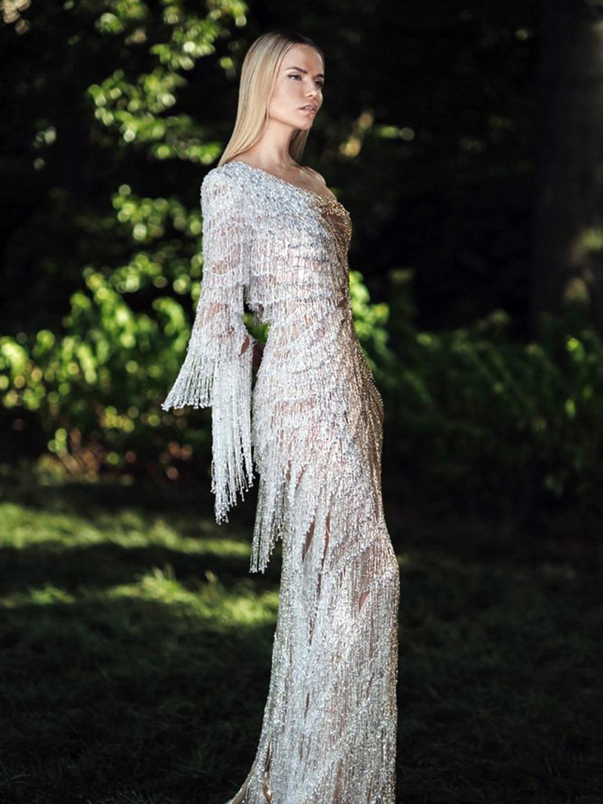 Natasha Poly w kampanii Versace