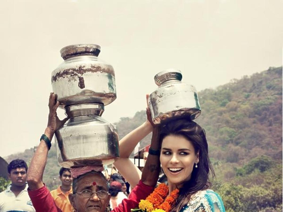 Natasza Urbańska w Bollywood