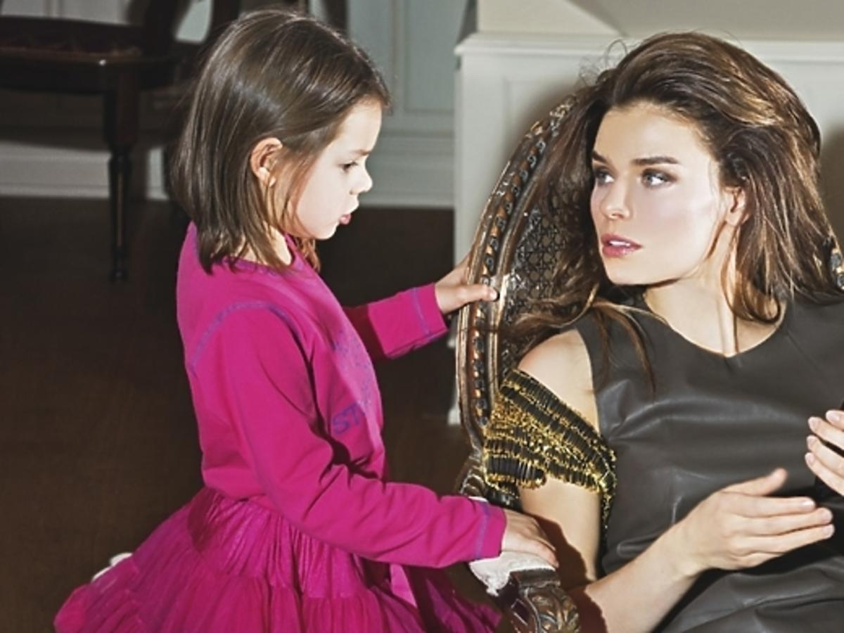 Natasza Urbańska w sesji z córką dla Vivy!