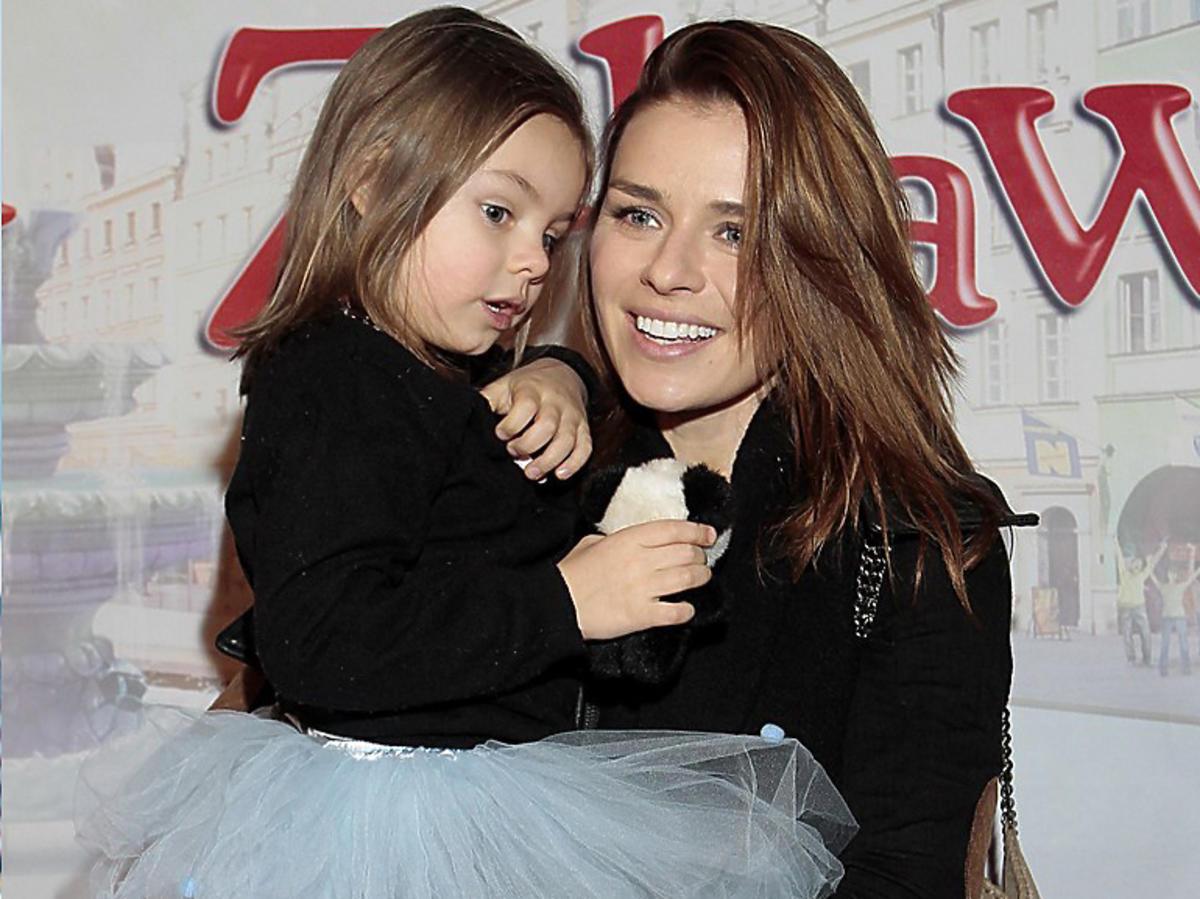 Natasza Urbańska z córką