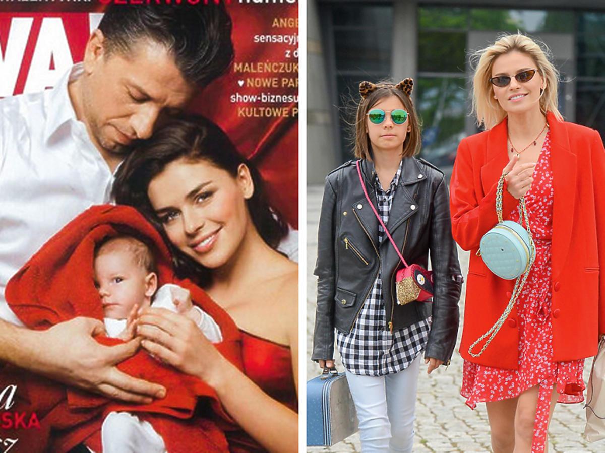 Natasza Urbańska z córką - kiedyś i teraz