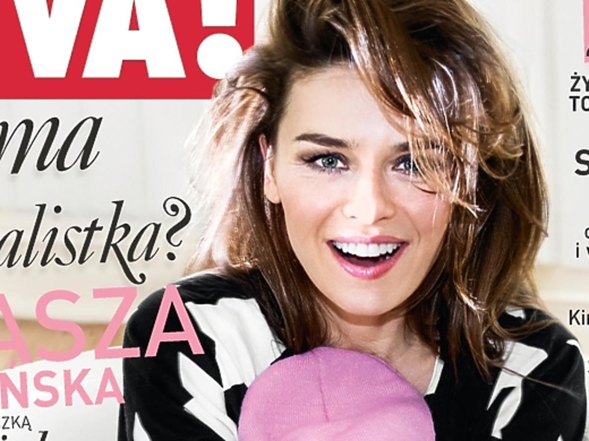 Natasza Urbańska z córką na okładce Vivy!