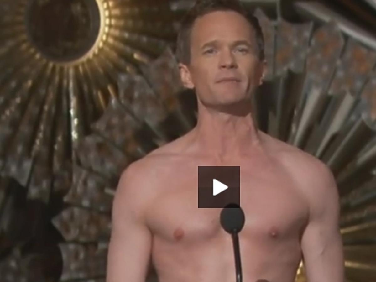 Neil Patrick Harris rozebrał się na Oscarach