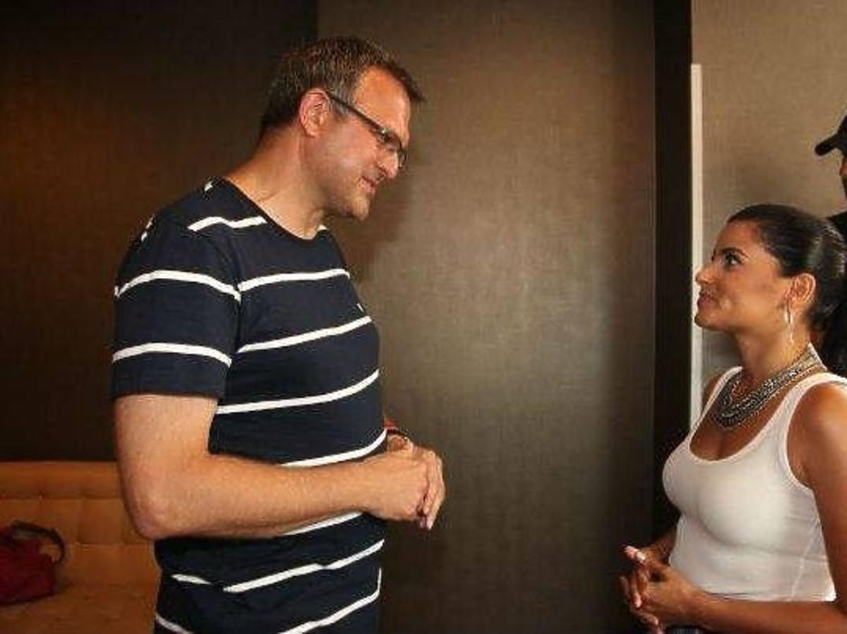 Nelly Furtado na spotkaniu z fanami w Szczecinie
