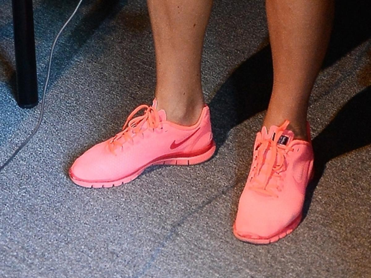 Neonowe buty Soni Bohosiewicz