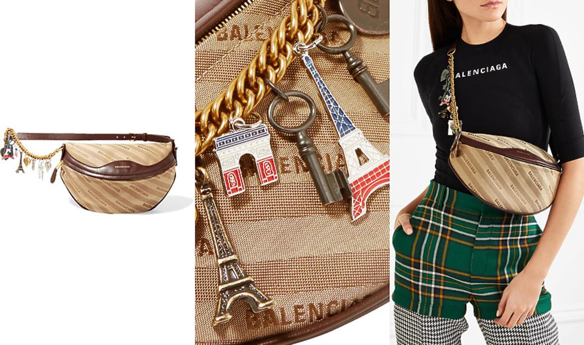 Nerka Balenciaga Souvenir Logo Belt Bag, 6000 zł