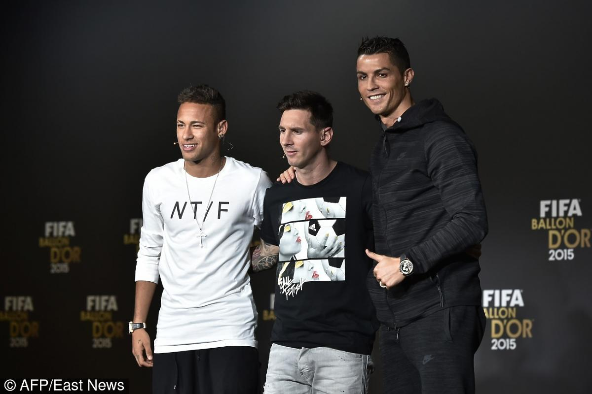 Neymar, Messi i Ronaldo