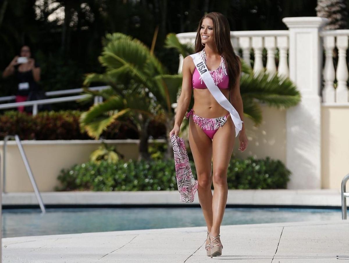 Nia Sanchez Miss USA Miss Universe